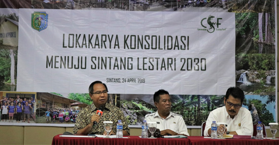 Sintang heart of borneo development planning sustainable landscapes conservation economics