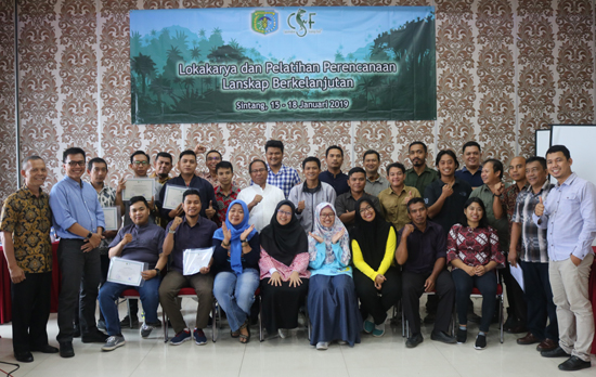 Sintang sustainable development planning Indonesia