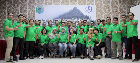 Sustainable Landscape Training Sintang West Kalimantan Indonesia