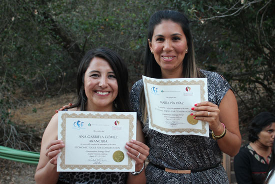 CSF international course participants graduation certificates conservation economics