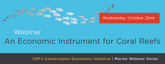 duke webinar economic instruments for coral reefs