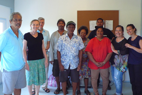 Ngardmau Palau fisheries training conservation economics value chain