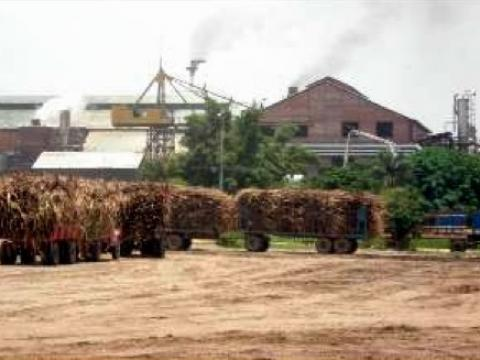 Picture of sugar mill in northern Bolivia
